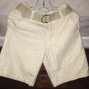 Boys seersucker shorts